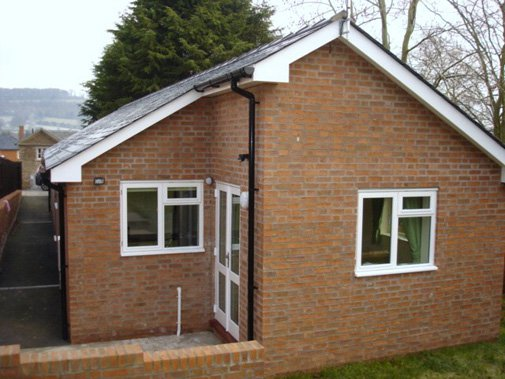 Park House Care Home in Bromyard exterior of home