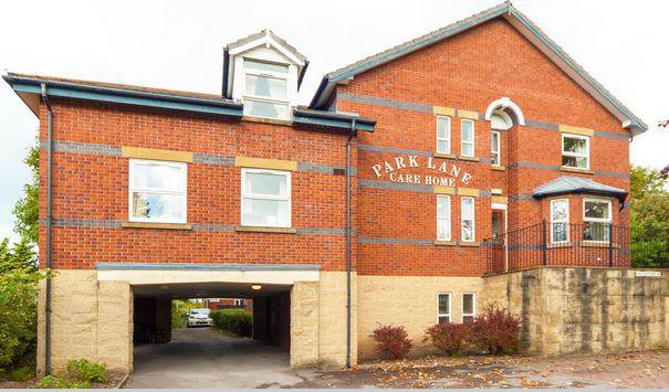 Park Lane Residential Care Home in Congleton exterior of home