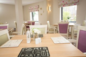 Parklands Lodge Care Home Southport Dining Room