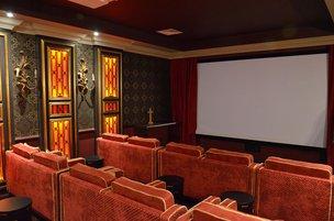 Cinema Room in Parklands Manor