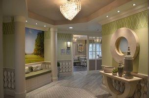 Hallway in Parklands Manor