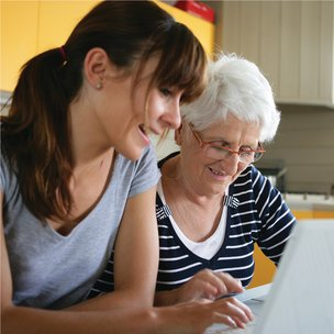 Blue River Home Care Waltham Abbey - Carer with Client