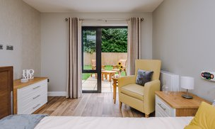 Lily Wharf Lodge Care Home Bedroom