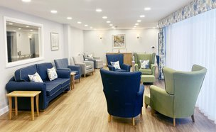 Lakelands Lodge Care Home Lounge