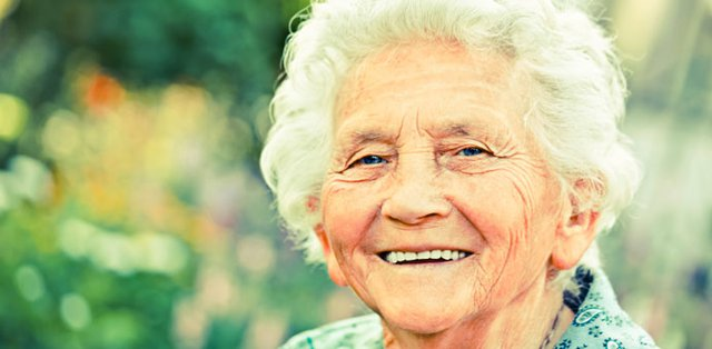 Radfield Home Care in Shrewsbury elderly lady smiling