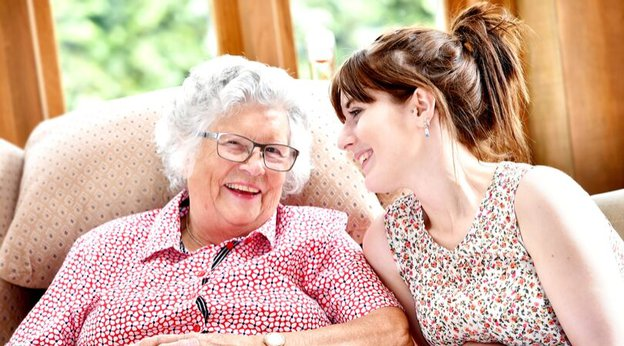 Radfield Home Care Client and Carer