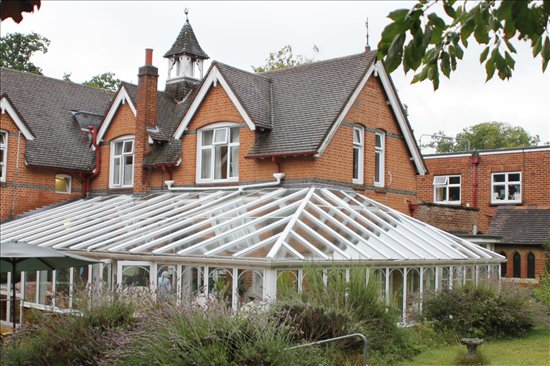Gracewell of Hawley Care Home in Hampshire exterior of the home