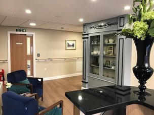 Woodlands Lodge Care Home Liverpool Merseyside reception