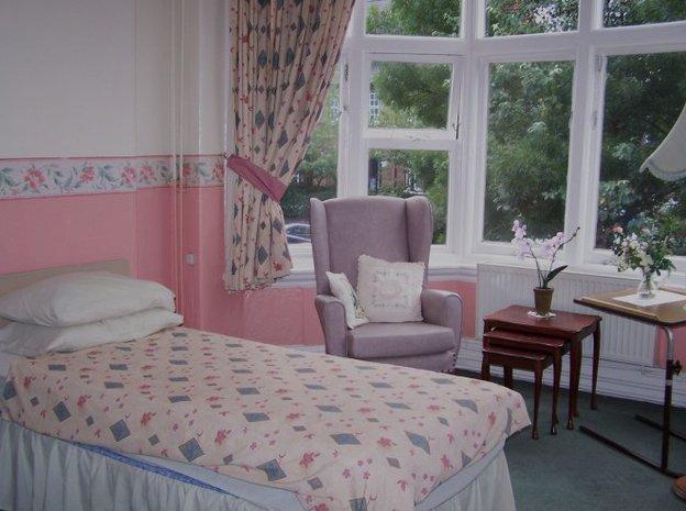 Bedroom at Ridgeway Care Centre