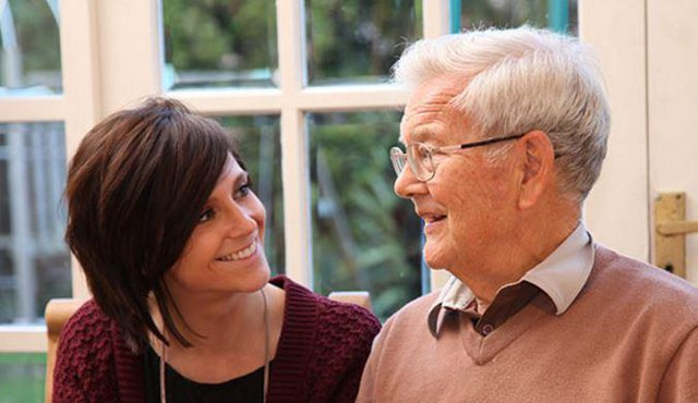 Right at Home Guildford & Farnham Home Care in Farnham elderly man with care giver
