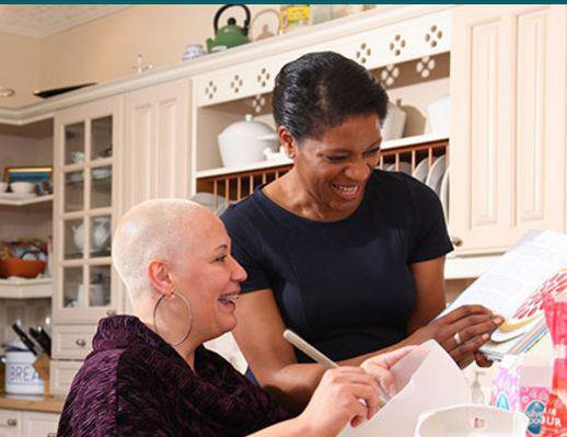 Right At Home Loughton, Redbridge & Waltham Forest Home Care carer with care seeker