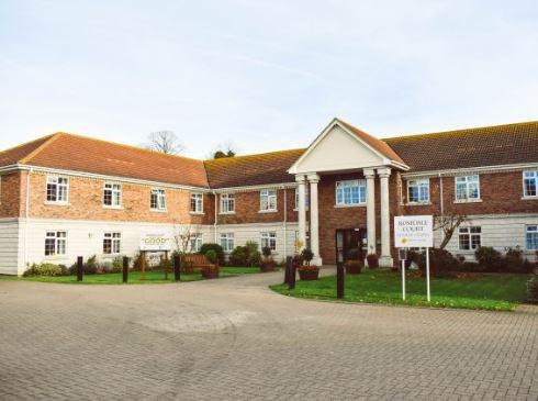 Rosedale Court Care Home in Rayleigh
