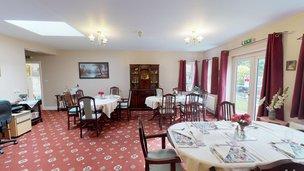 Saffrons Care Home in Eastbourne BN21 1DU Dinning Room 1