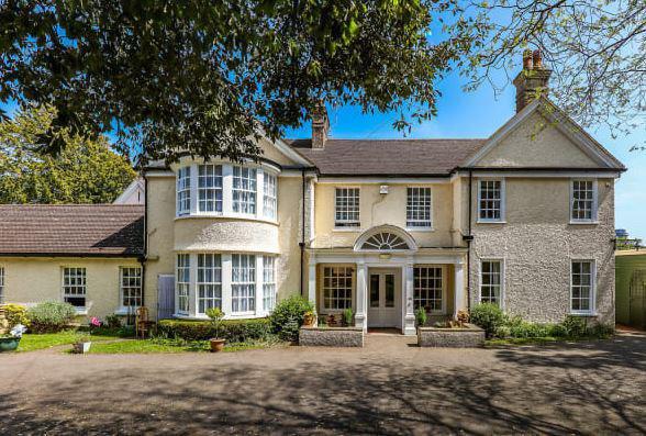 Sandgate Manor in Folkestone, Kent exterior