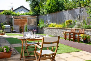 Greenhill House Somerset Care Garden