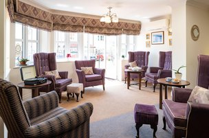 Greenhill House Somerset Care Lounge