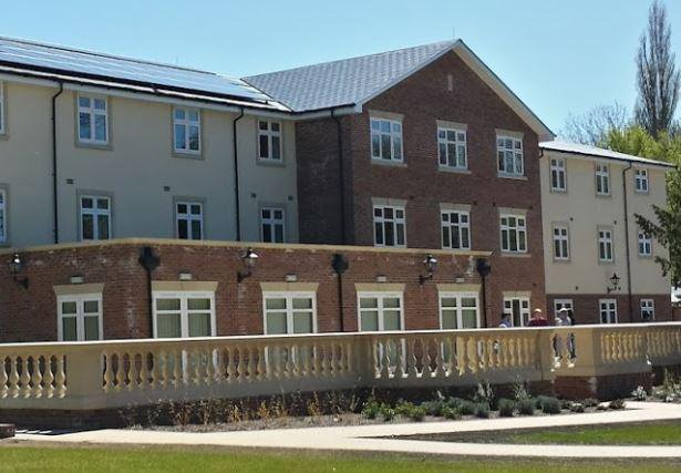 Waterbeach Lodge Care Home front exterior