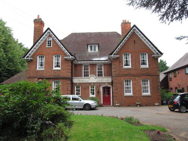 Sedlescombe Park Care Home in Rugby front exterior of home