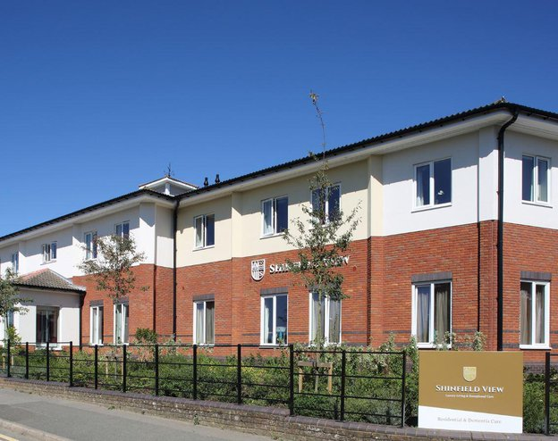 Shinfield View Care Home in Shinfield, Berkshire exterior