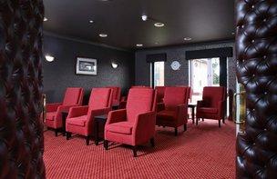 Cinema room at Shipton Lodge
