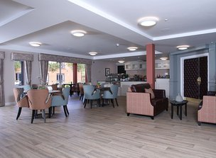 Dinning room in Shipton Lodge