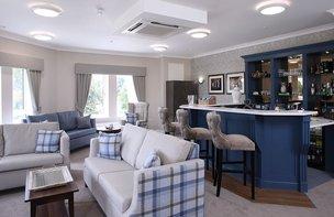 Lounge in Shipton Lodge