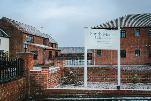South Moor Lodge Care Home in Walkeringham, Doncaster frontage