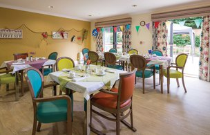Cooksons Court Somerset Care Dining Room