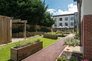 Cooksons Court Somerset Care Garden