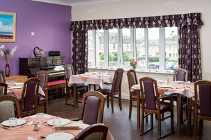 Croft House Somerset Care Dining