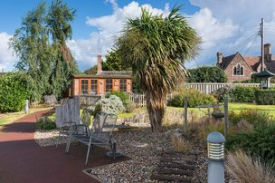 Croft House Somerset Care Garden