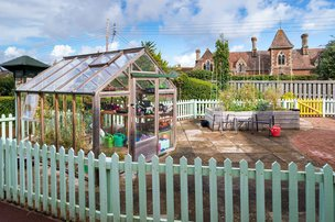 Croft House Somerset Care Garden Shed