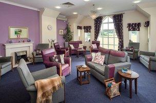 Croft House Somerset Care Lounge