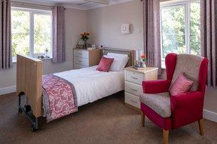 Calway House Somerset Care Bedroom