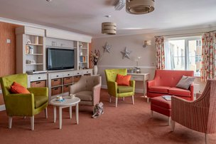 Calway House Somerset Care Lounge