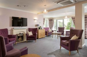 Wessex House Somerset Care Lounge