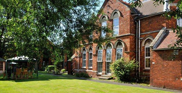 St John's Nursing Home in Spalding rear exterior of home