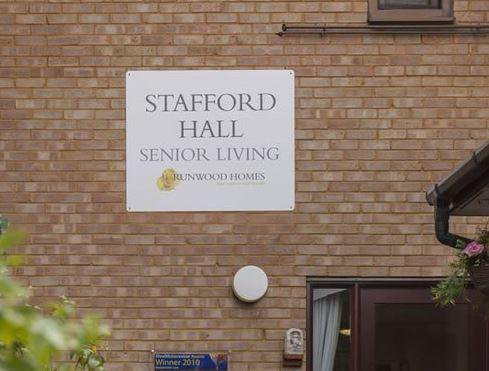 Stafford Hall Care Home in South Benfleet