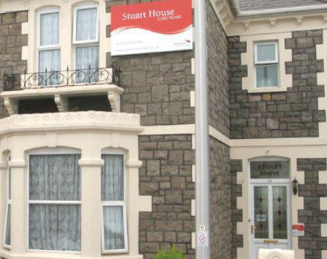 Stuart House Care Home in Somerset Exterior