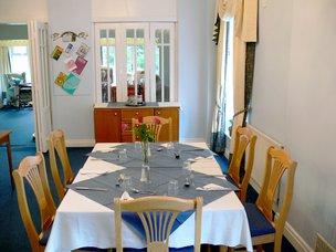 Sunrise nursing home Felixstowe IP11 7HQ Dining Room