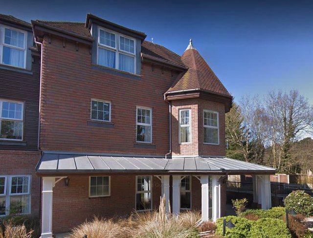 Sunrise of Esher Care Home in Esher front exterior