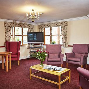 Sydmar Lodge Care Home Middlesex Living Room