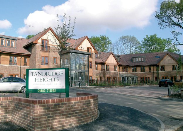 Tandridge Heights Nursing Home in Oxted exterior of home