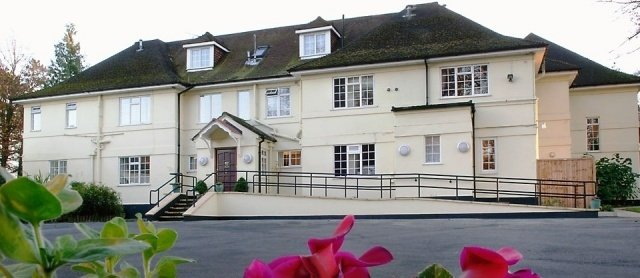 Tegfield House Care Home in Winchester exterior of the home