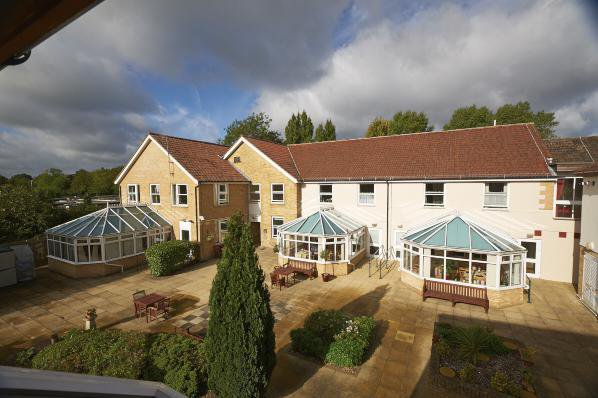 The Burroughs Care Home in West Drayton exterior of home