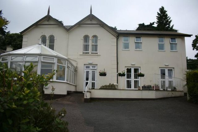The Firs Residential Nursing Home in Exmouth exterior of building