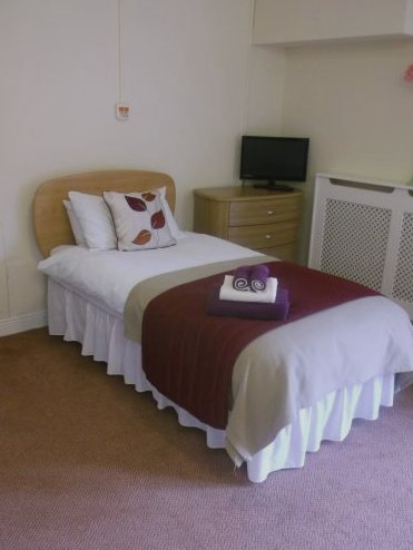Bedroom at The Grove Skellingthorpe Care Centre