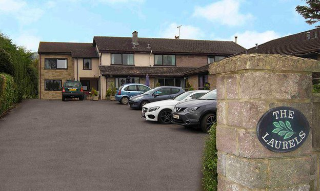 The Laurels Care Home in Draycott Exterior
