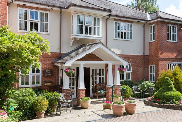 The Lawns Care Home in Oadby