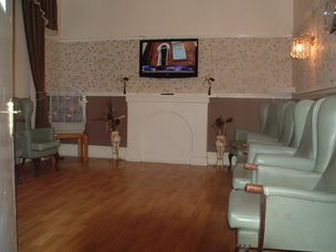 The Orchard Nursing Home Huyton Liverpool TV Room